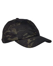 Yupoong 6245MC Low Profile Cotton Twill Multicam Cap at GotApparel