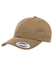 Yupoong 6245PT Men Peached Cotton Twill Dad Cap at GotApparel