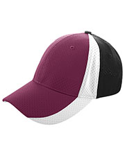 Augusta 6247 Men Sport Flex 3-Color Athletic Mesh Cap at GotApparel