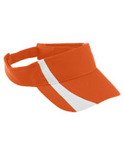 Augusta 6261 Boys Adjustable Wicking Mesh TwoColor Visor at GotApparel