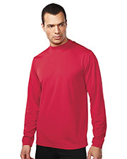 TM Performance 626 Men Diversion Long-Sleeve Knit Mock Neck Shirt at GotApparel