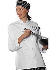 Edwards 6301 Women Chef Coat at GotApparel