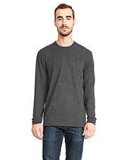 Next Level 6411 Unisex Sueded Long-Sleeve Crew at GotApparel