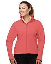 TM Performance 6420 Women's Stretch Soft Shell Jacket at GotApparel