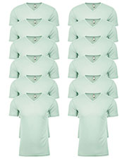 Next Level 6440 Men Premium Fitted Sueded V-Neck Tee 12-Pack at GotApparel