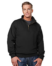 Tri-Mountain 644 Men React 1/4-Zip Firefighters Work Shirt at GotApparel