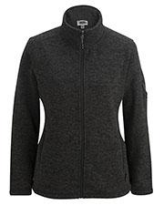 Edwards 6460ED Women Sweater Knit Fleece Jacket at GotApparel