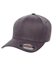 Yupoong 6477 Unisex Wooly Blend 6-Panel Cap at GotApparel