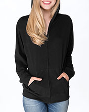 Next Level 6491 Adult Unisex Sueded Full-Zip Hoody at GotApparel