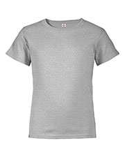 Delta 65359 Boys Dri Youth 30/1's Retail Fit Short Sleeve Performance Tee at GotApparel