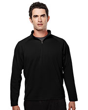 TM Performance 655 Men's Ultracool Pique 1/4-Zip Pullover Shirt at GotApparel