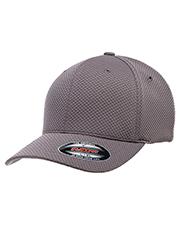 Yupoong 6584 Flexfit Cool & Dry 3D Hexagon Jersey Cap at GotApparel