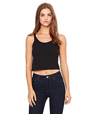 Bella + Canvas 6680 Women Poly/Cotton Crop Tank at GotApparel