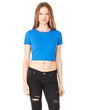 Bella + Canvas 6681 Women Poly/Cotton Crop T-Shirt at GotApparel