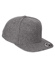 Yupoong 6689 Unisex Melton Wool Adjustable Cap at GotApparel