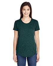 Anvil 6750L Women Tri-Blend Scoop Neck T-Shirt at GotApparel