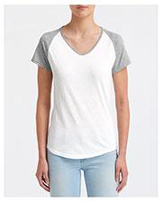 Anvil 6770VL Women Tri-Blend Raglan T-Shirt at GotApparel