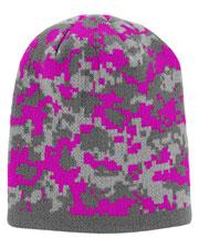 Augusta 6830 Women Digi Camo Knit Beanie Onesize at GotApparel