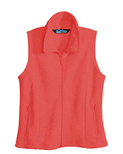 Tri-Mountain 7020 Women Crescent Micro Fleece Vest at GotApparel
