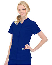 Landau 70223 Women Snap Front Tunic at GotApparel