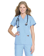 Landau 70224 Women Faux Wrap Tunic at GotApparel
