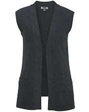 Edwards 7026 Women Open Cardigan Sweater Vest at GotApparel