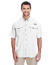 Custom Embroidered Columbia 7047 Men 3 oz Bahama II Short-Sleeve Shirt at GotApparel