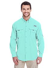 Custom Embroidered Columbia 7048 Men 3 oz Bahama II Long-Sleeve Shirt at GotApparel