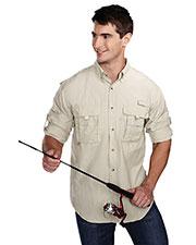 TM Performance 705 Men's Marlin Nylon Long-Sleeve Shirt at GotApparel