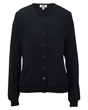 Edwards 7061 Women Drop Neck Cardigan Sweater-Tuff-Pil Plus at GotApparel