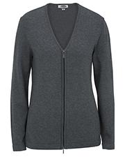 Edwards 7062 Women Full-Zip V-Neck Cardigan Sweater at GotApparel