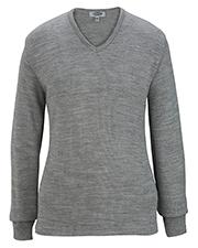 Edwards 7065 Women V-Neck Sweater-Tuff-Pil Plus at GotApparel