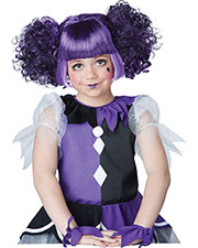 California Costumes 70803 Girls Gothic Dolly Wig at GotApparel