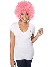 California Costumes 70839 Unisex Pink Afro Wig at GotApparel