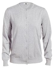 Edwards 7111 Women Jewel Neck Cotton Cardigan Sweater at GotApparel