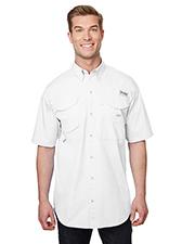 Custom Embroidered Columbia 7130 Men 3.8 oz Bonehead Short-Sleeve Shirt at GotApparel