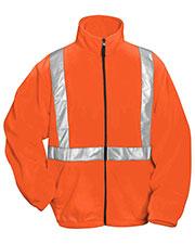 Tri-Mountain 7130 Men Precinct Anti Pilling Safety Fleece Jacket Ansi Class 2/Level 2 at GotApparel
