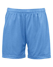 Badger 7216 Women Mesh Short 5ins at GotApparel