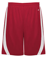 Badger 7244 Men B-Slam Reversible Polyester Basketball 9 Shorts at GotApparel