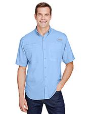 Custom Embroidered Columbia 7266 Men 2.4 oz Tamiami II Short-Sleeve Shirt at GotApparel