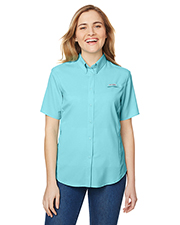 Custom Embroidered Columbia 7277 Ladies 2.4 oz Tamiami II Short-Sleeve Shirt at GotApparel