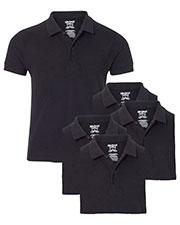 Gildan G728B Boys Dryblend 6.3 Oz. Double Pique Sports Shirt 5-Pack at GotApparel