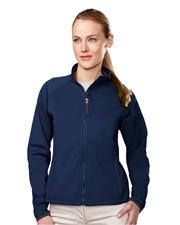 Tri-Mountain 7320 Women Arena Polyknit Fleece Full-Zip Jacket at GotApparel