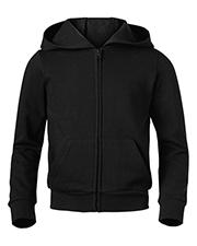 Soffe 7336G Women Core Fleece Full Zip Hoodie at GotApparel