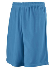 Augusta 738 Men Longer Length Mini Mesh League Short at GotApparel