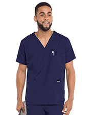 Landau 7489 Men 5-Pocket Scrub Top at GotApparel