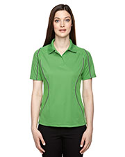 Extreme 75107 Women Eperformance  Velocity Snag Protection Colorblock Polo With Piping at GotApparel