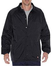 Dickies 76242 Unisex Snap Front Nylon Jacket at GotApparel