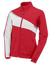 Augusta 7735 Women Aurora Front Zipper Jacket at GotApparel