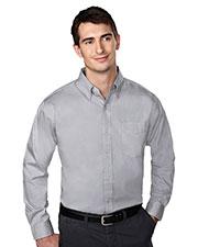 Tri-Mountain 780 Men Chairman Wrinkle Free Pinpoint Oxford Shirt at GotApparel